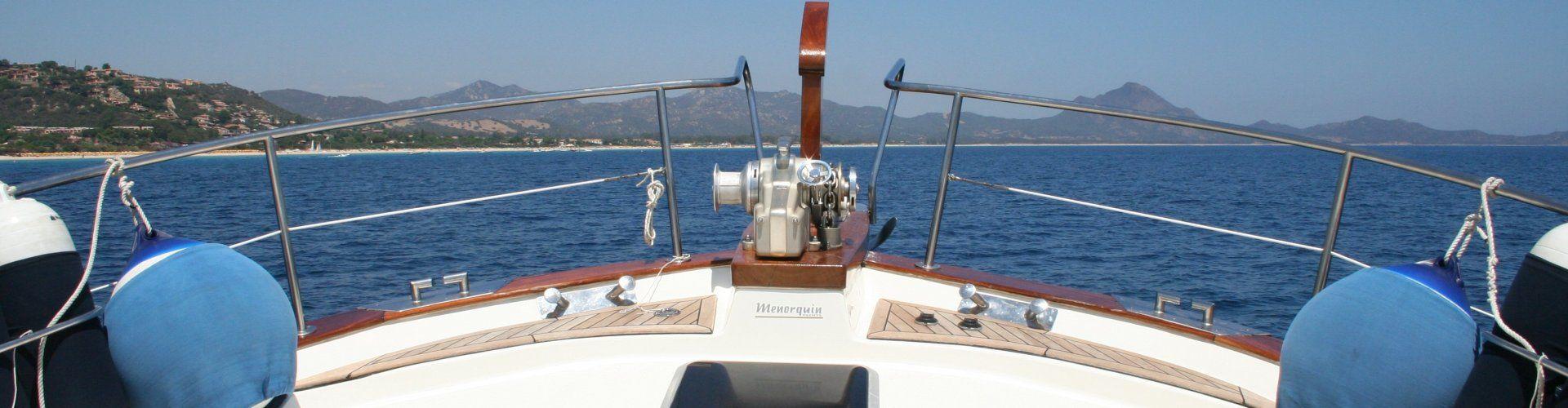 Motorbootausflug