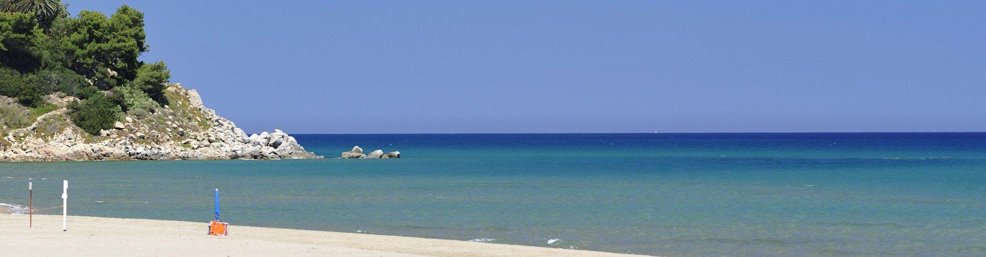 Strand Torresalinas, 2 km. entfernt