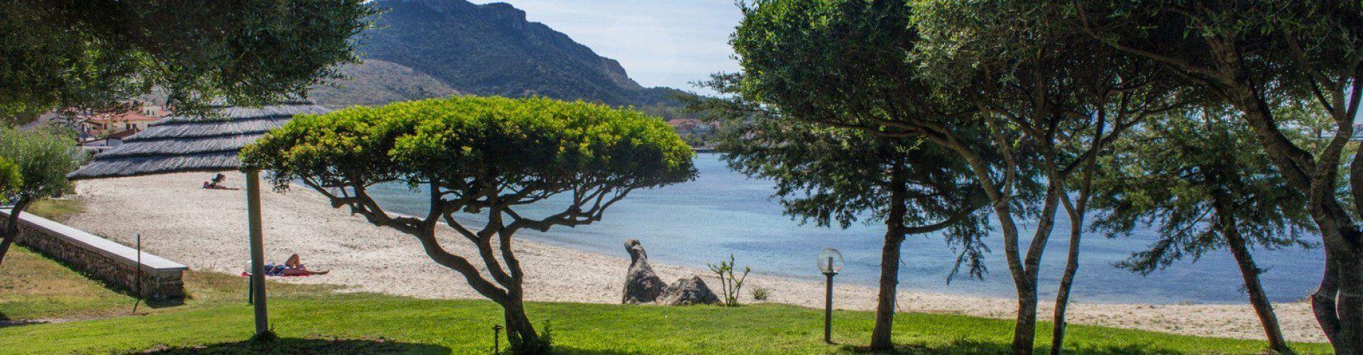 Golfo Aranci vor dem Haus
