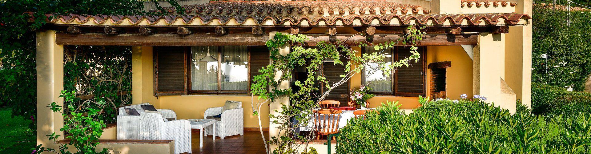 Haus-und Terrassenansicht