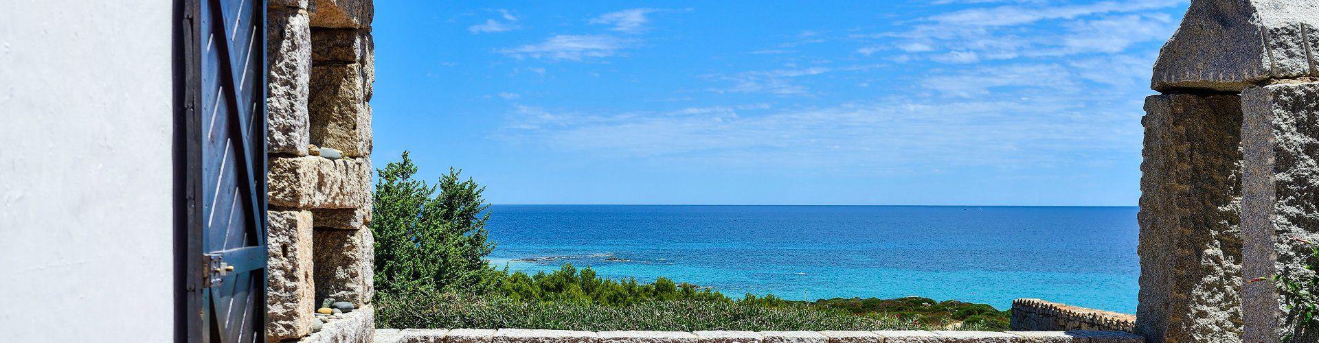 Sensationeller, direkter Meerblick von der Terrasse aus in Sant'Elmo