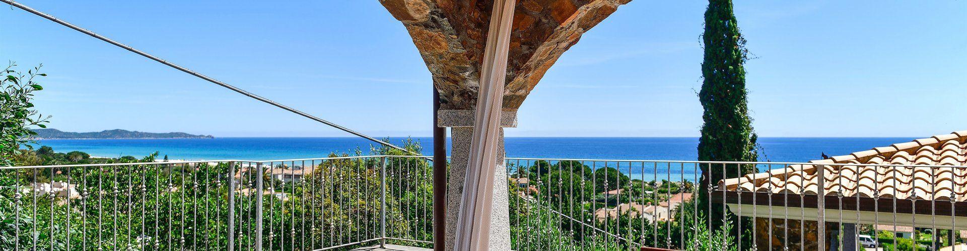 Wohnung mit Meerblick an der Costa Rei
