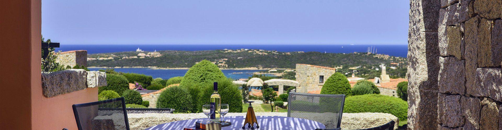 Villa mit Dachterrasse an der Costa Smeralda