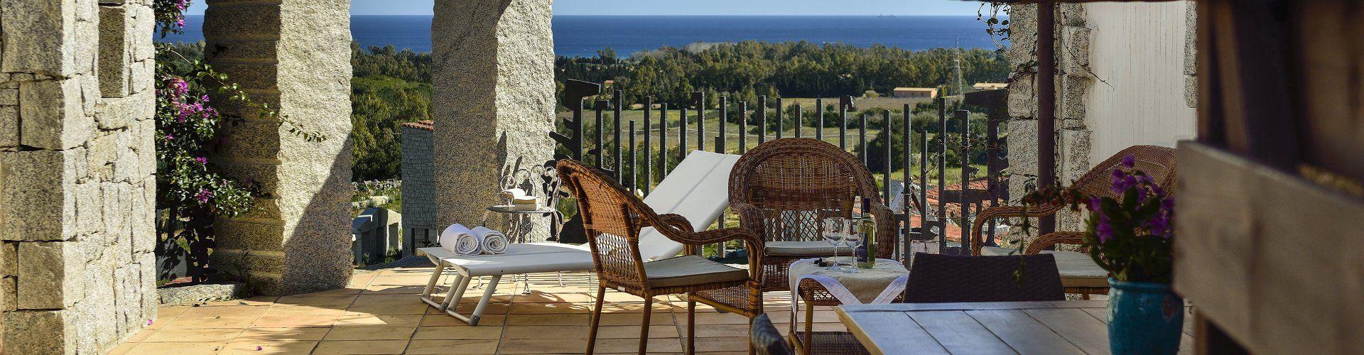Wohnung mit Meerblick in Süd-Ost Sardinien