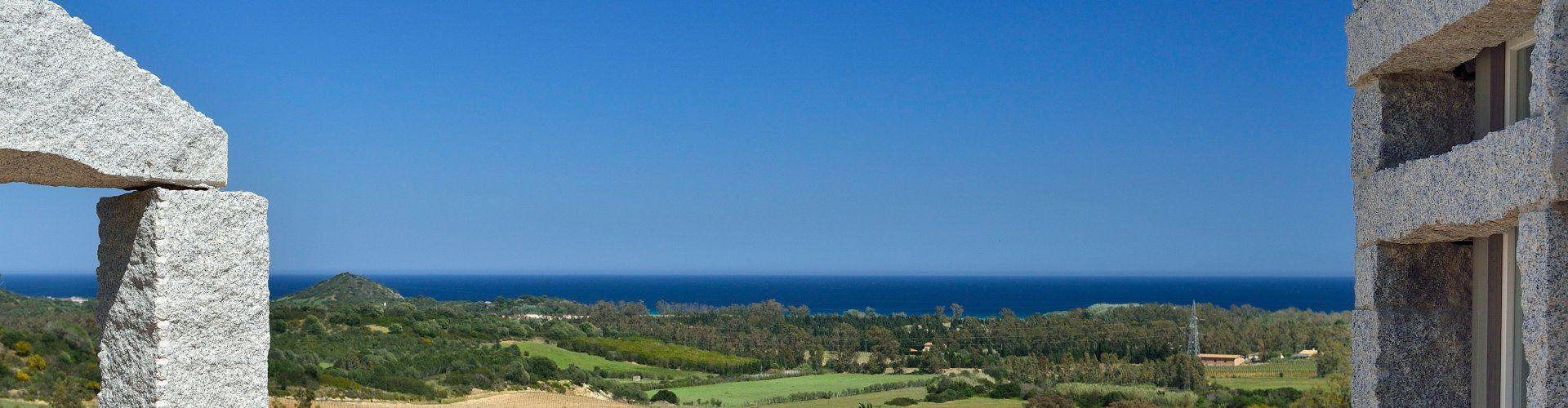 Ferienvilla mit Meerblick in Cala Sinzias