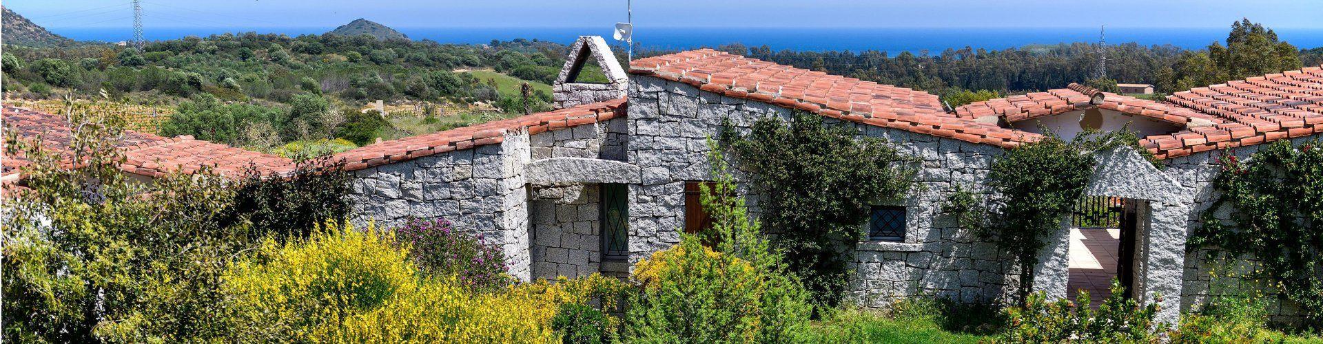 Ferienvilla mit Meerblick im Südosten Sardiniens