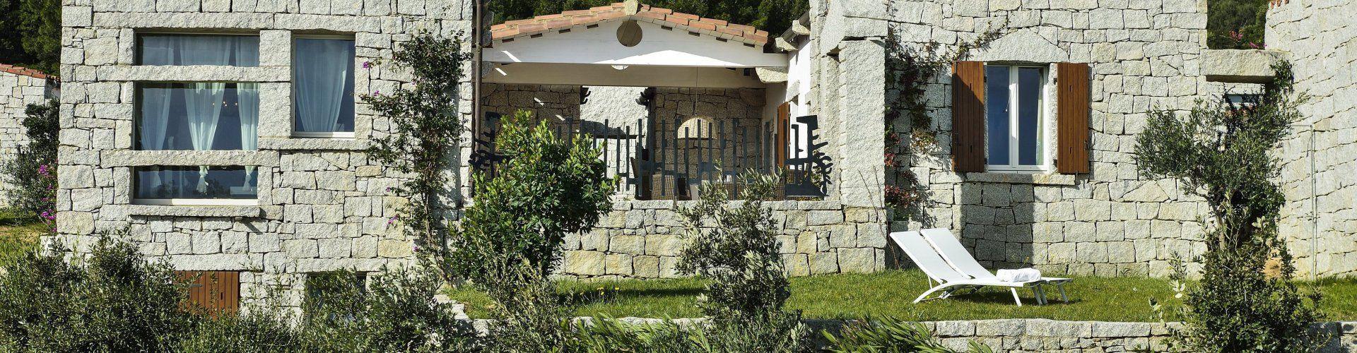 Ferienvilla mit Gemeinschaftspool in Cala Sinzias