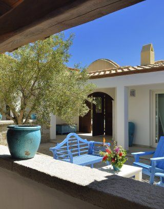Campidanischer Innenhof von der Villa Campidano 21