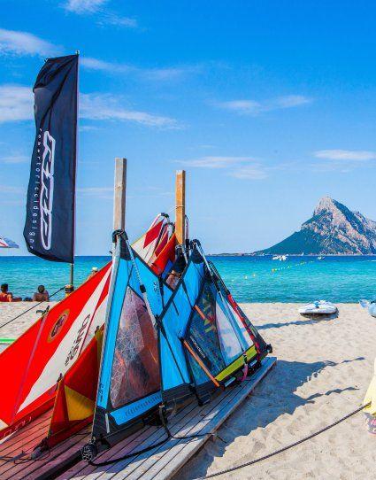 Freizeit Aktivitäten am Strand von Porto Taverna