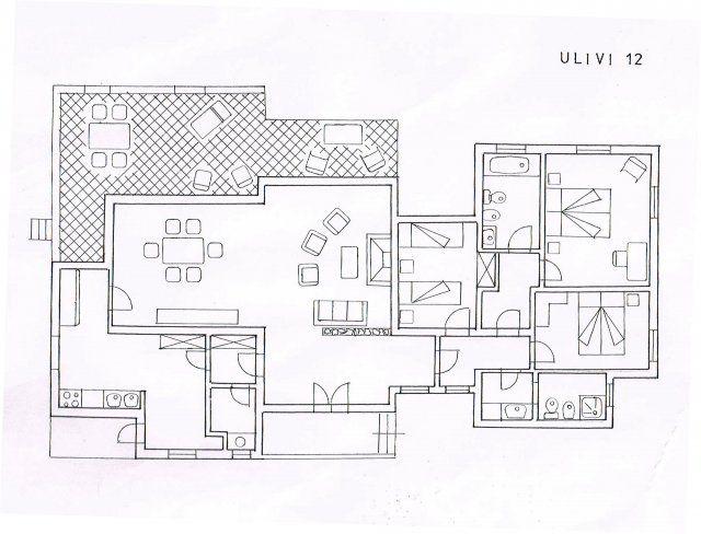 Villa Ulivi 12 Grundriss