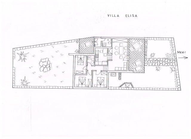 Grundriss Villa Elisa