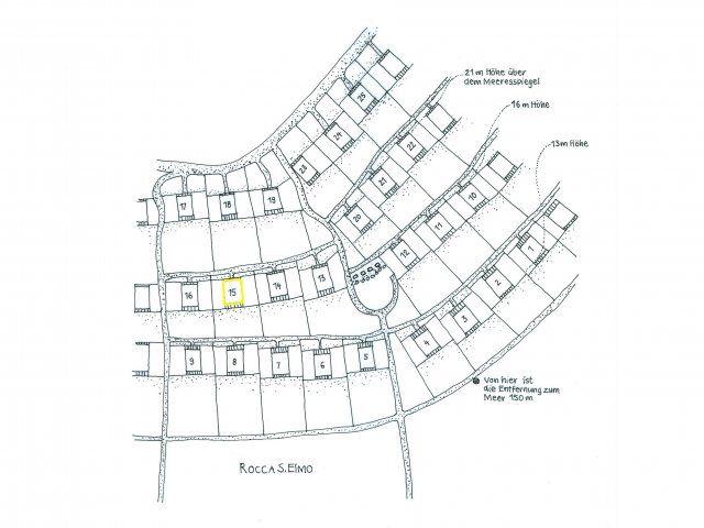 Ferienhauslage im Condominium Sant'Elmo