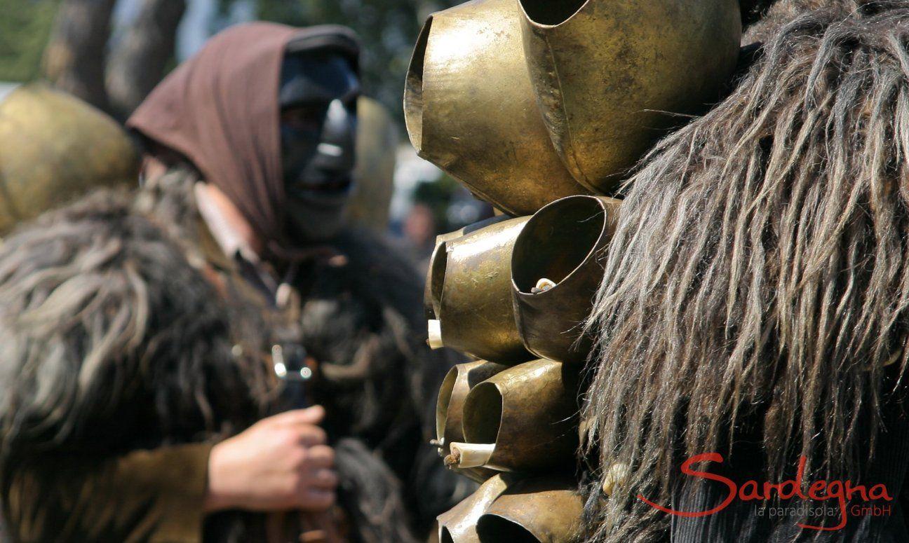 Masken; Sagra degli Agrumi, Orangenfest, Muravera, Trachten, Tradition, Folklore, Personen, Menschen, Sarden, Fest;