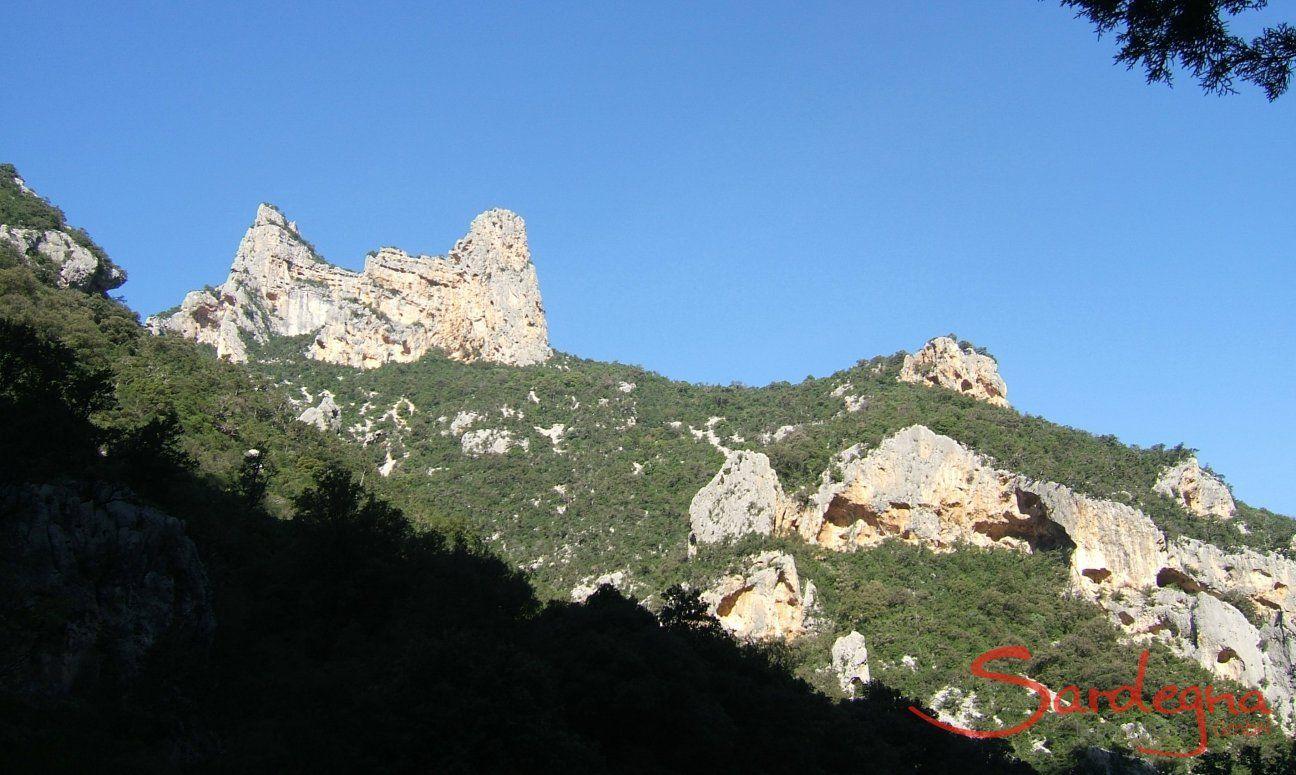Sardiniens Berge