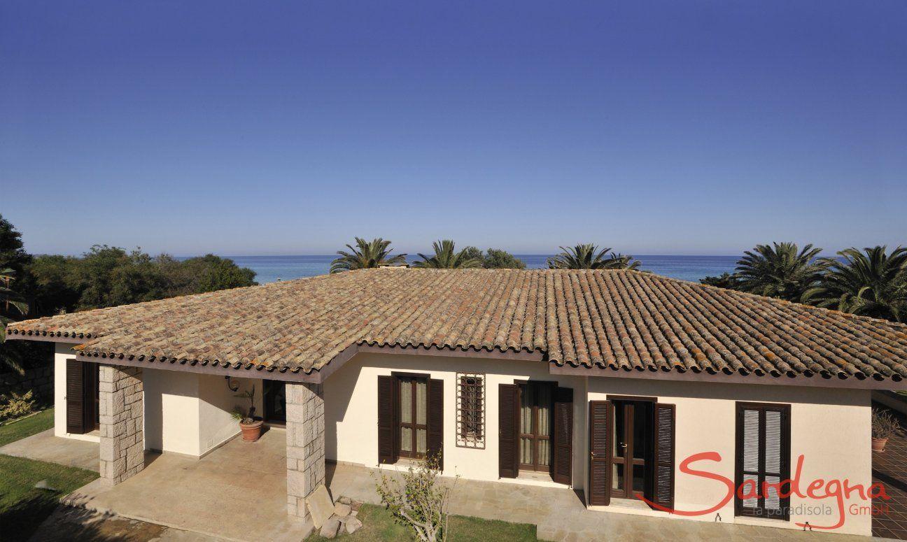 Villa Nautilus mit Meerblick