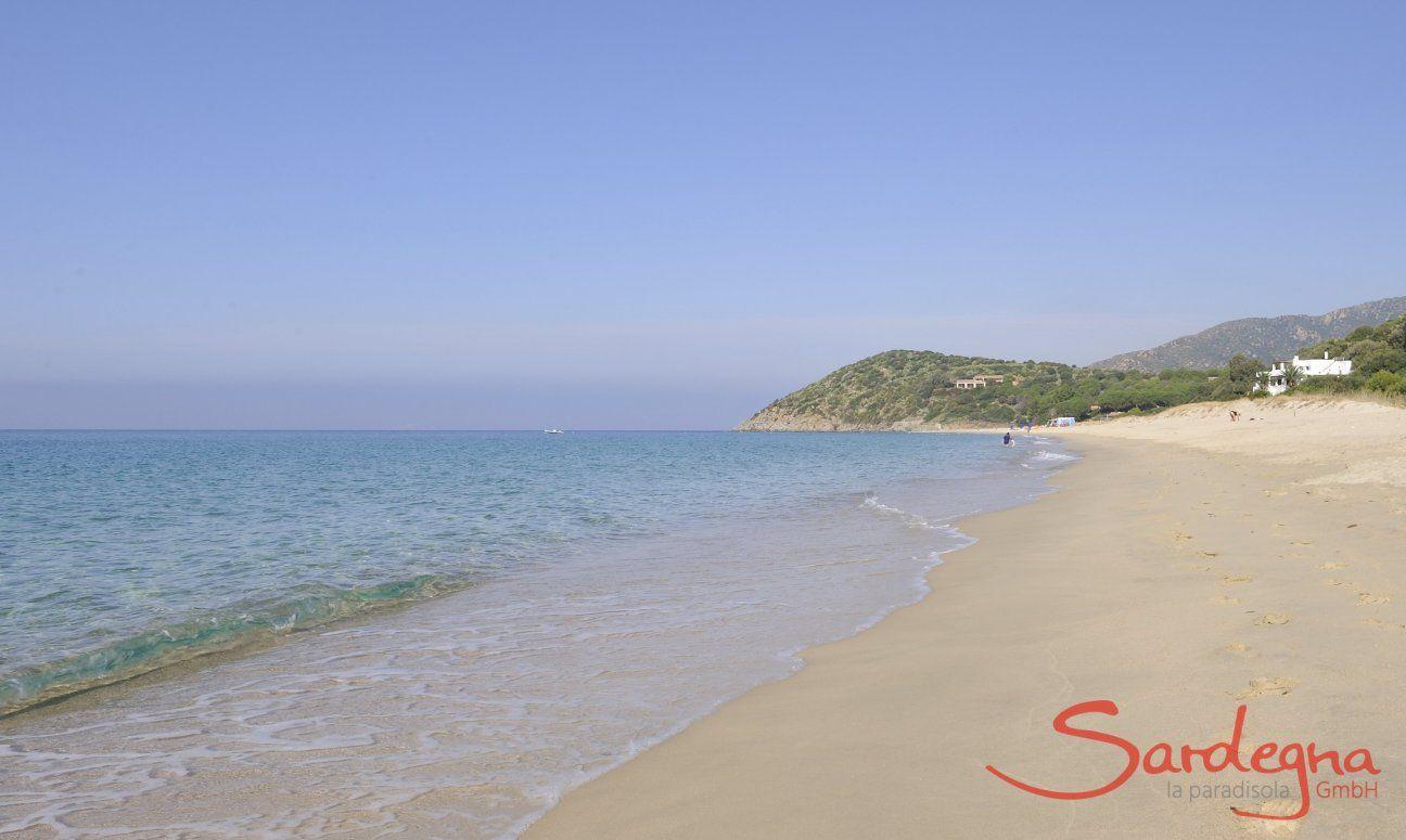 Geremeas, Strand, Villa Anna;