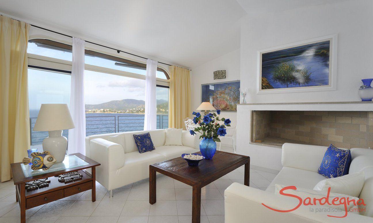 Modernes und helles Wohnzimmer