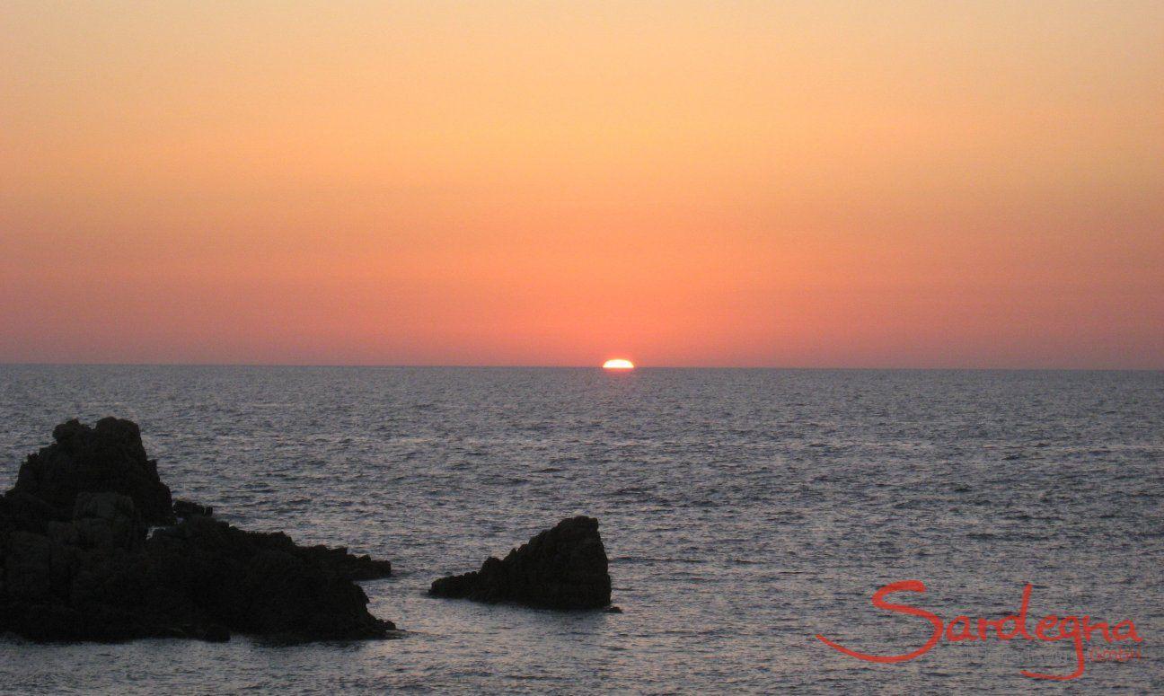 Sonnenuntergang in Portobello