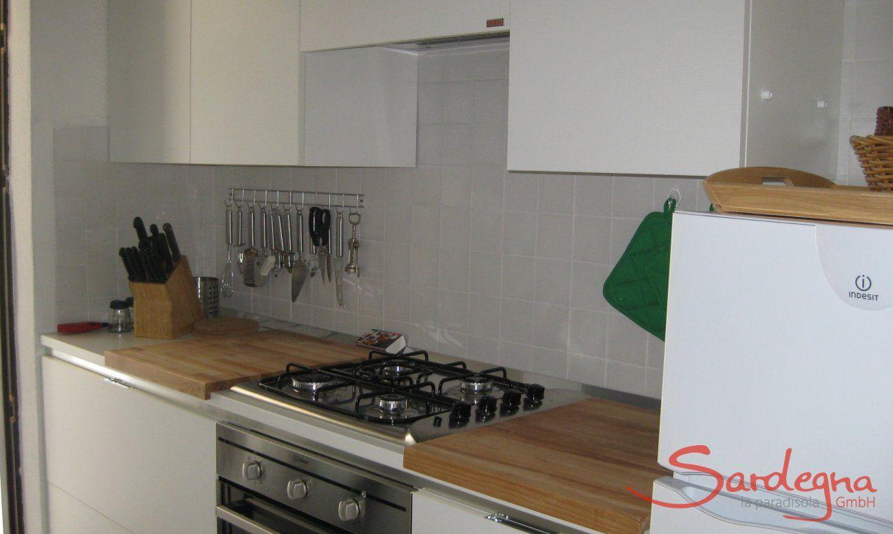 Vollausgestattete und moderne Küche
