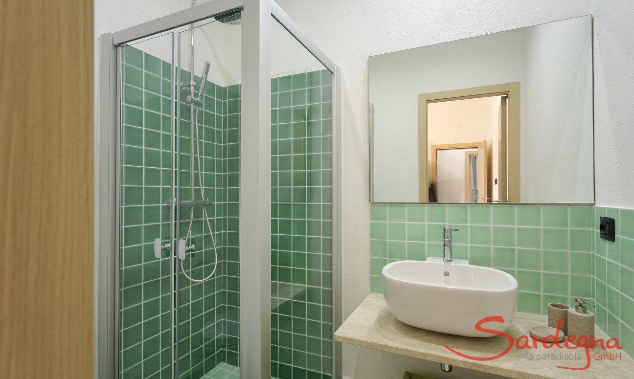 Badezimmer 1 mit Dusche