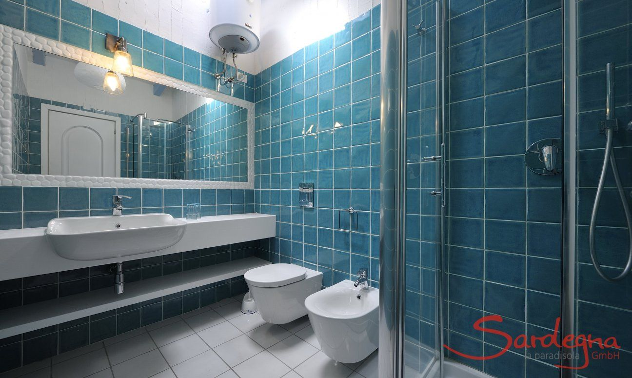 Großes Badezimmer mit Dusche Casa 20, Sant Elmo
