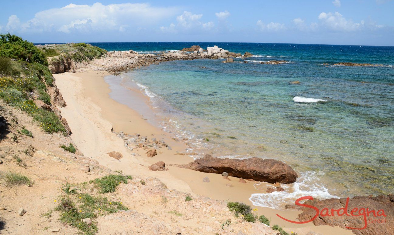 Strand Lu Litarroni - 10 Minuten mit dem Auto