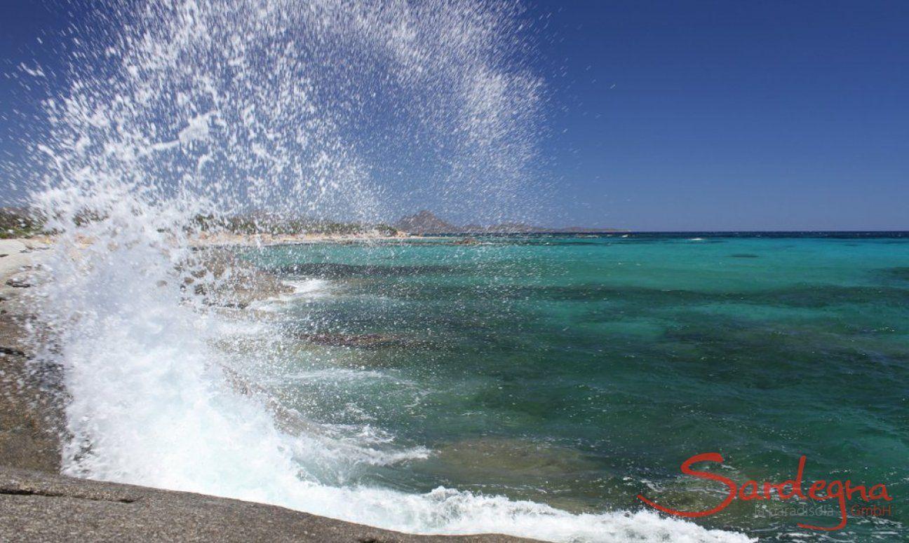 Strand und Meer Sant Elmo