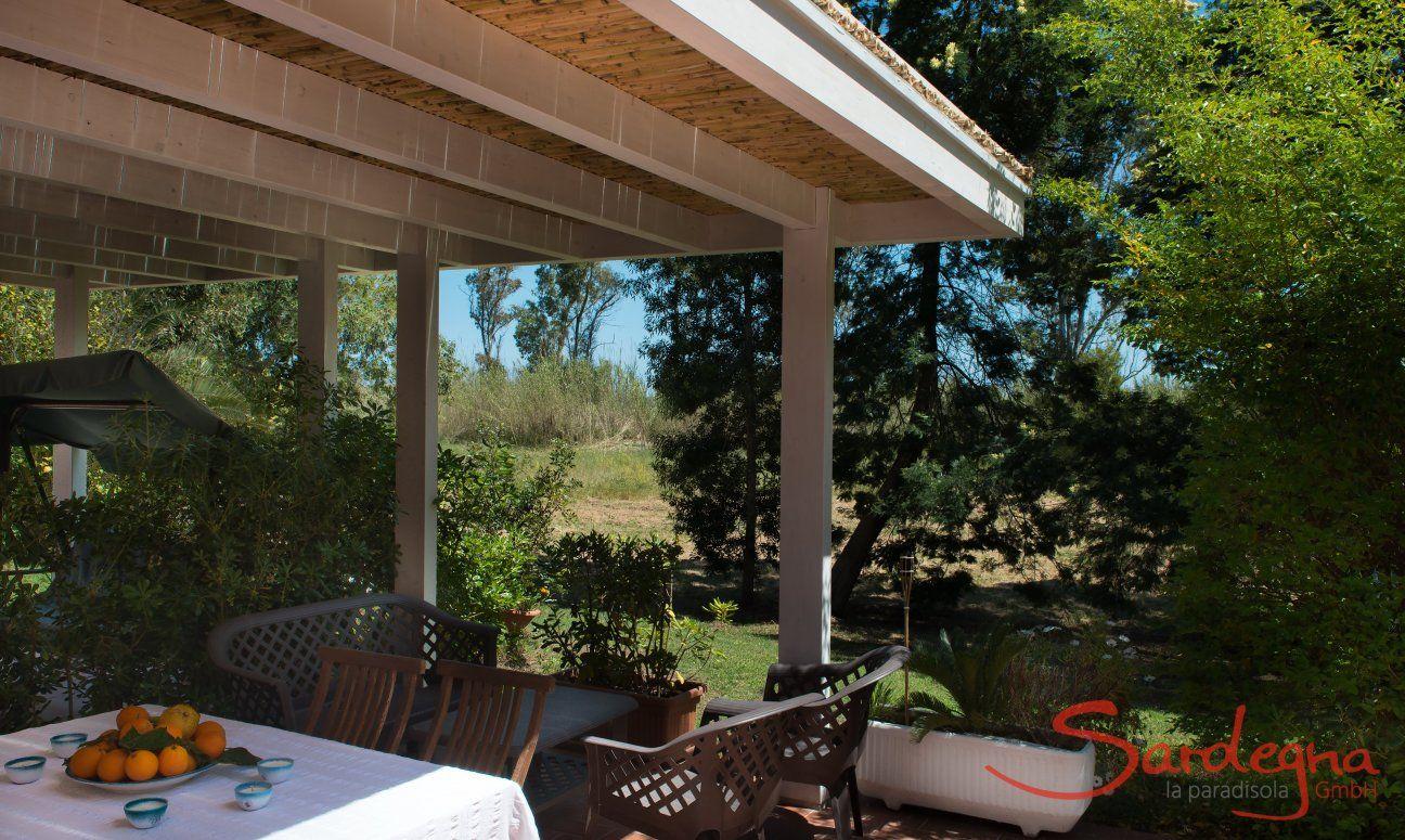 Veranda und Garten App. Orri 2