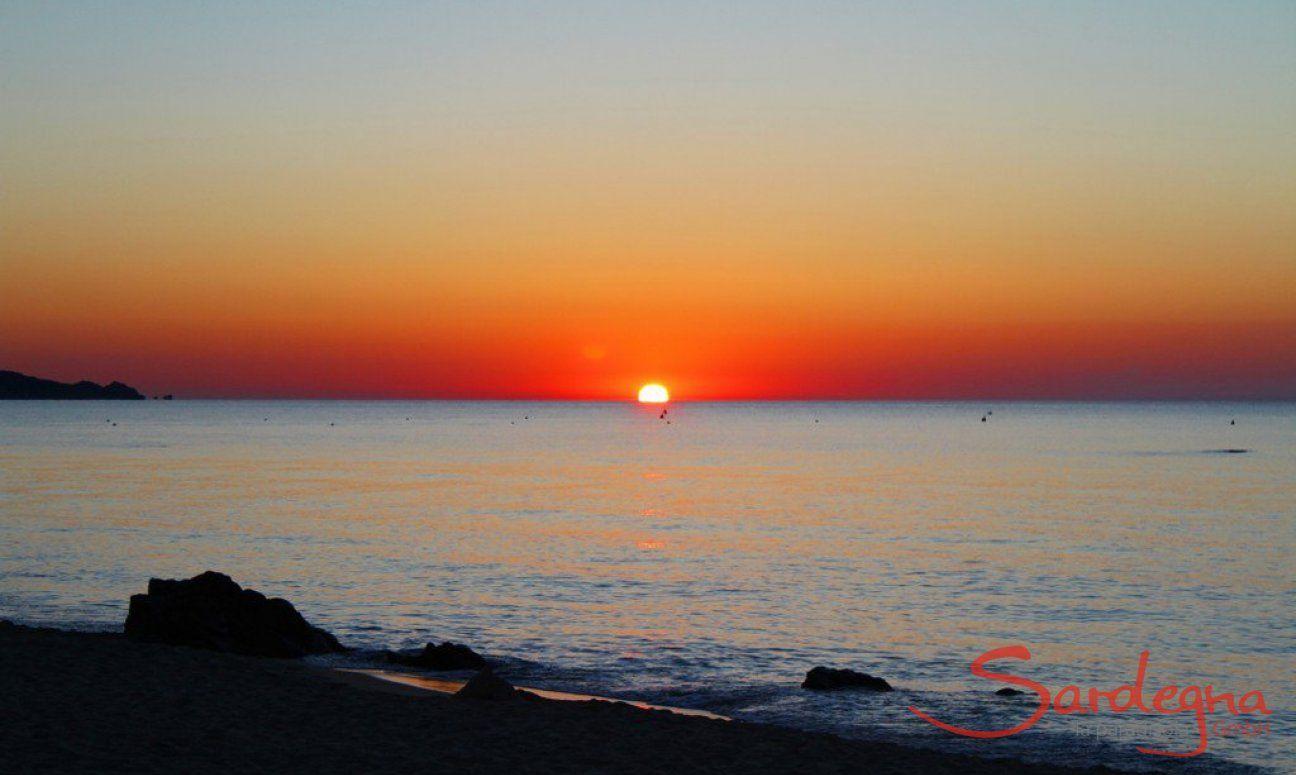 Sonnenaufgang Costa Rei