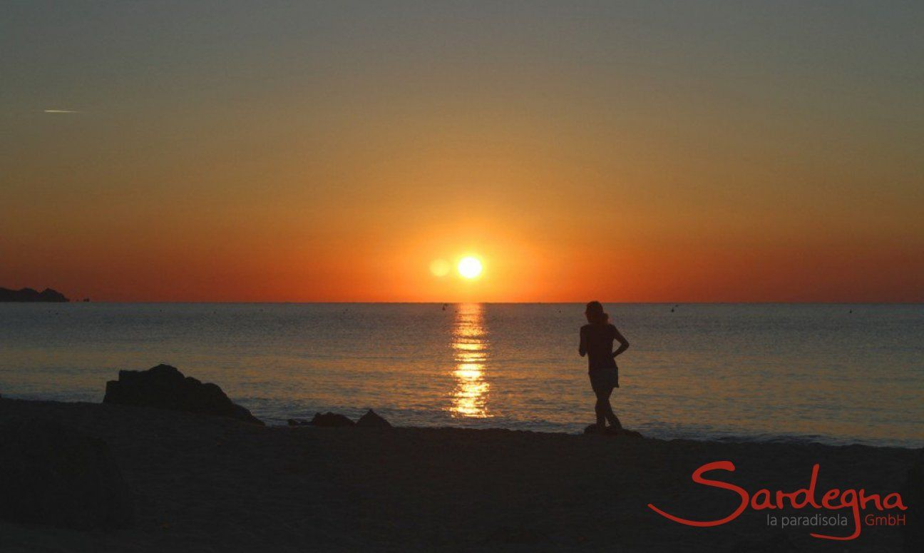Sonnenaufgang an der Costa Rei