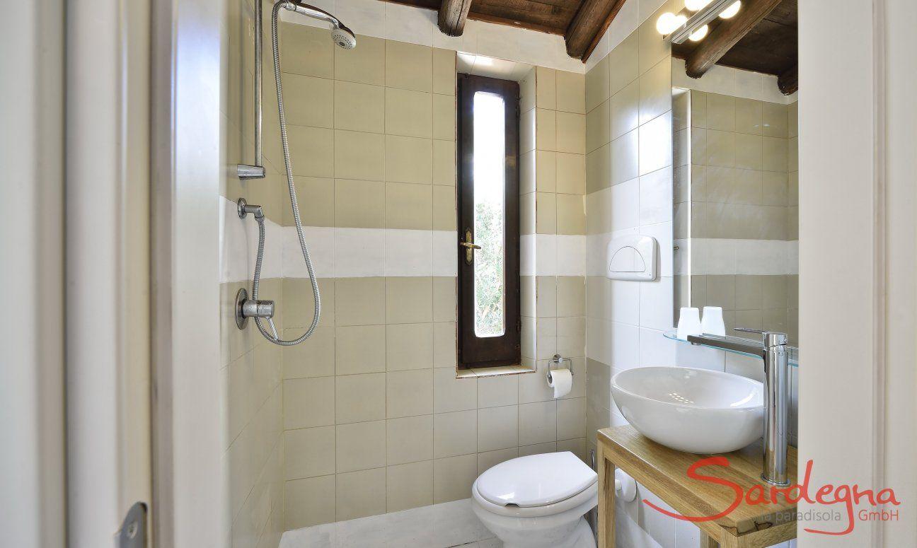 Modernes Hauptbad mit Dusche