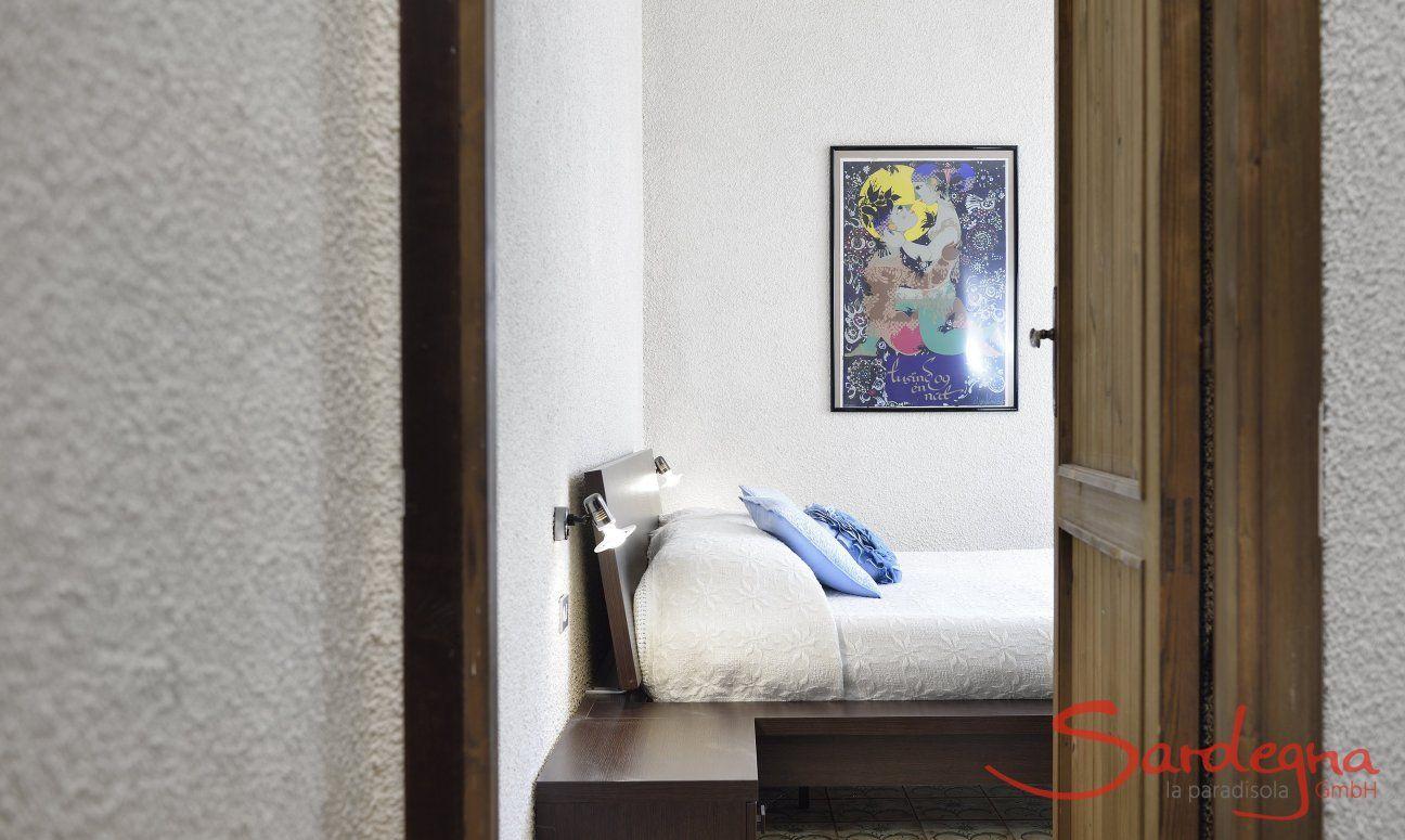 Schlafzimmer 3 vom Flur aus