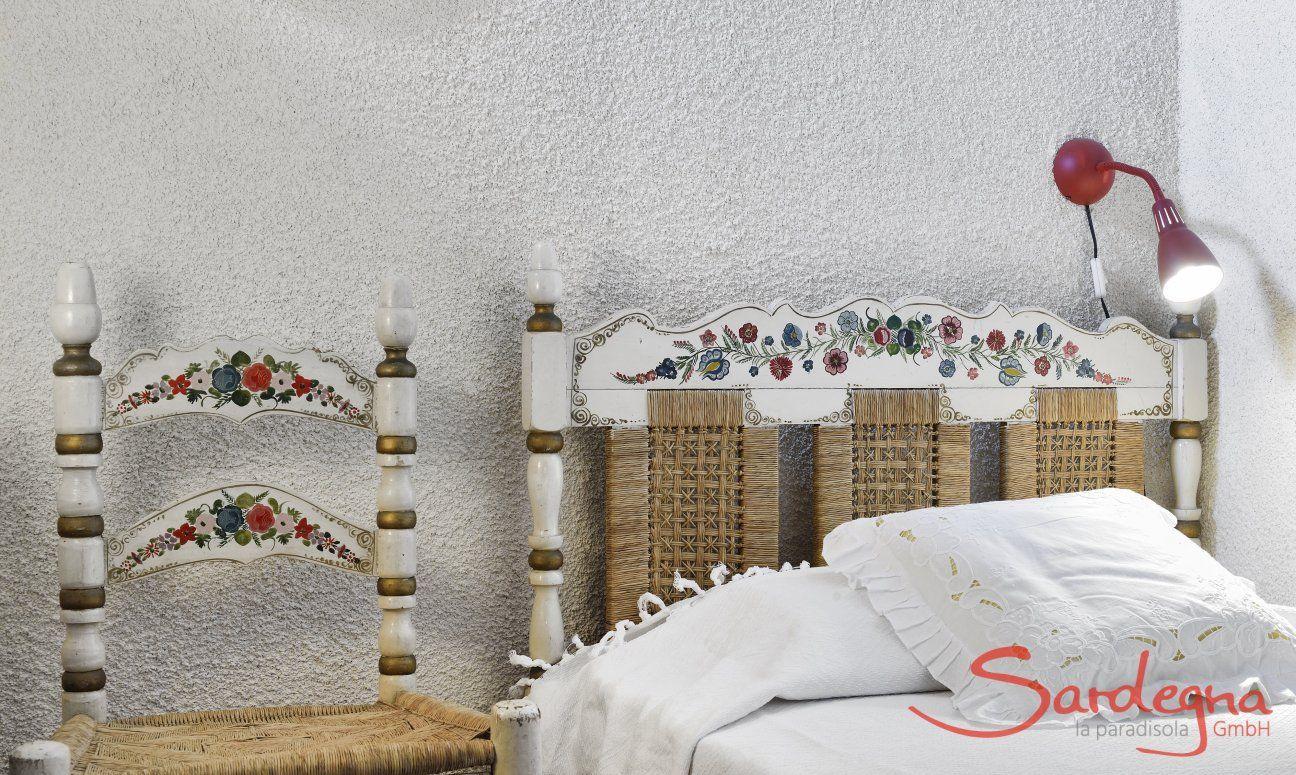 Schlafzimmer 4 mit Einzelbett