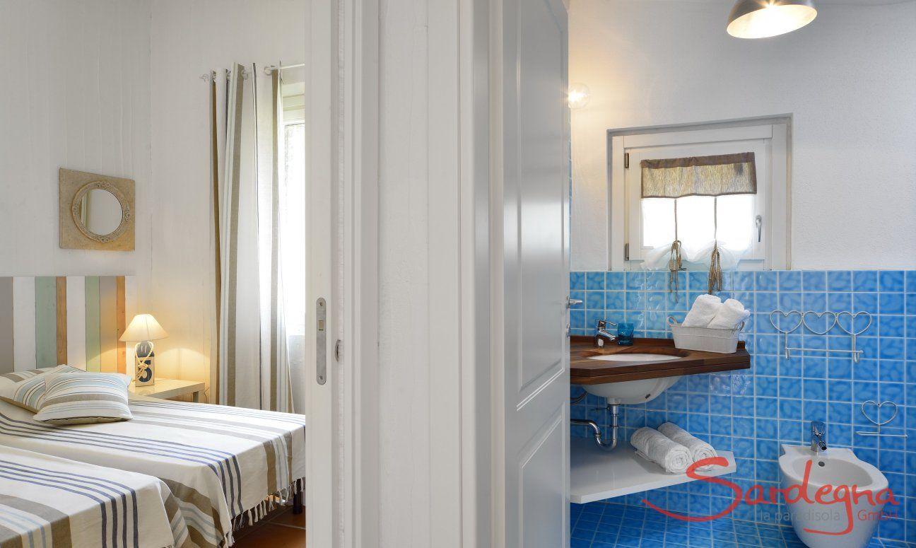 Schlafzimmer 3 mit privatem Bad