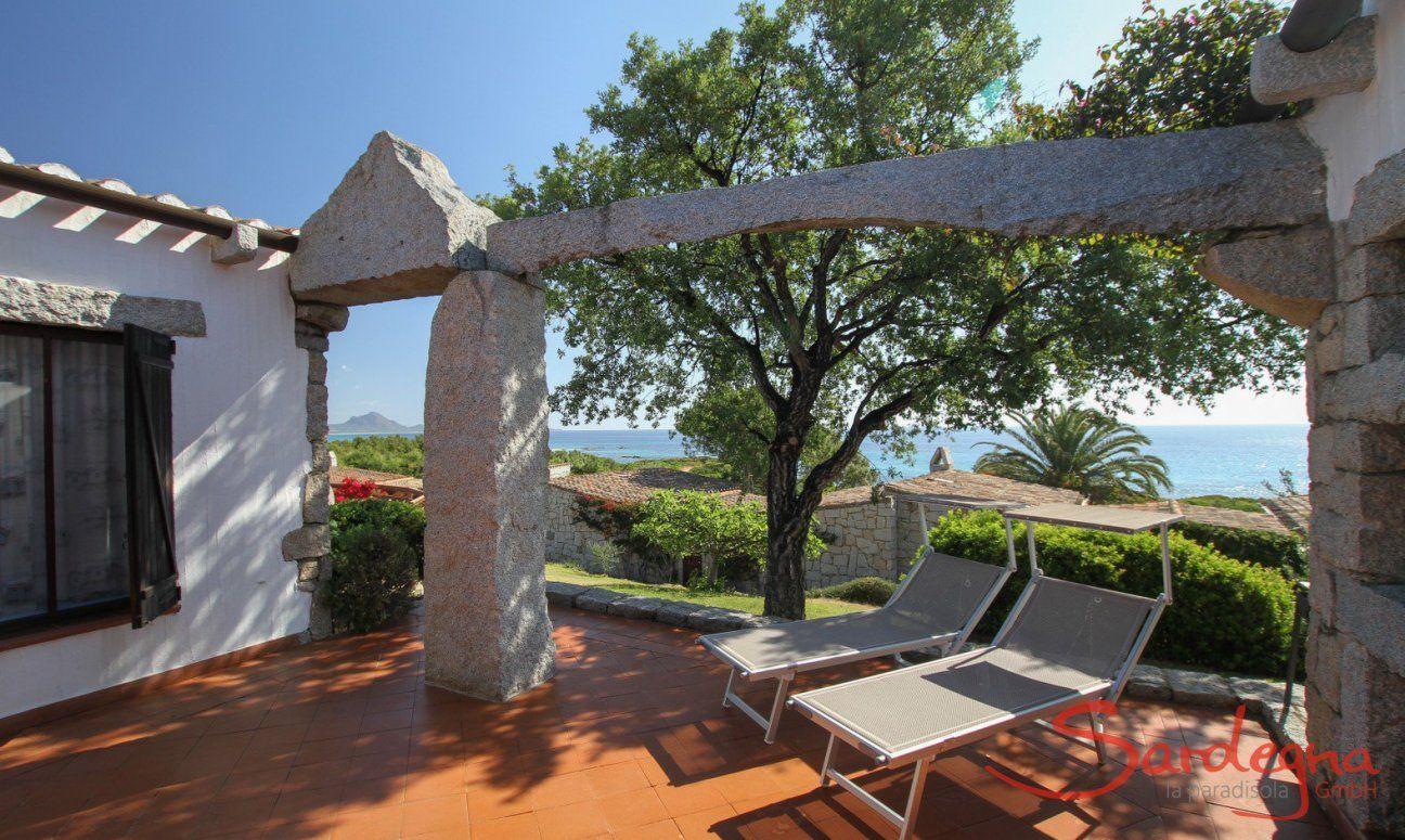 Casa 13 mit Blick auf das Meer von Sant'Elmo