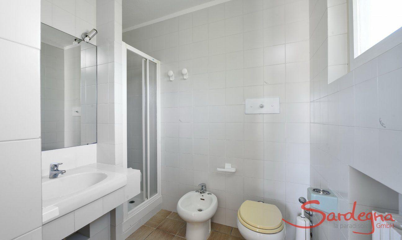 Ensuite Bad vom 4 Schlafzimmer mit Dusche und Bidet