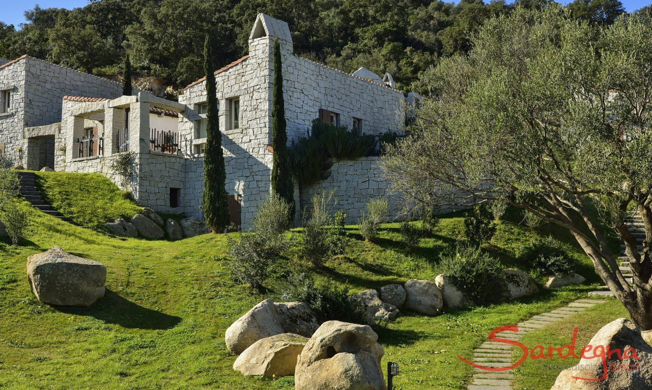 Lage des Ferienhauses Li Conchi 9, Cala Sinzias