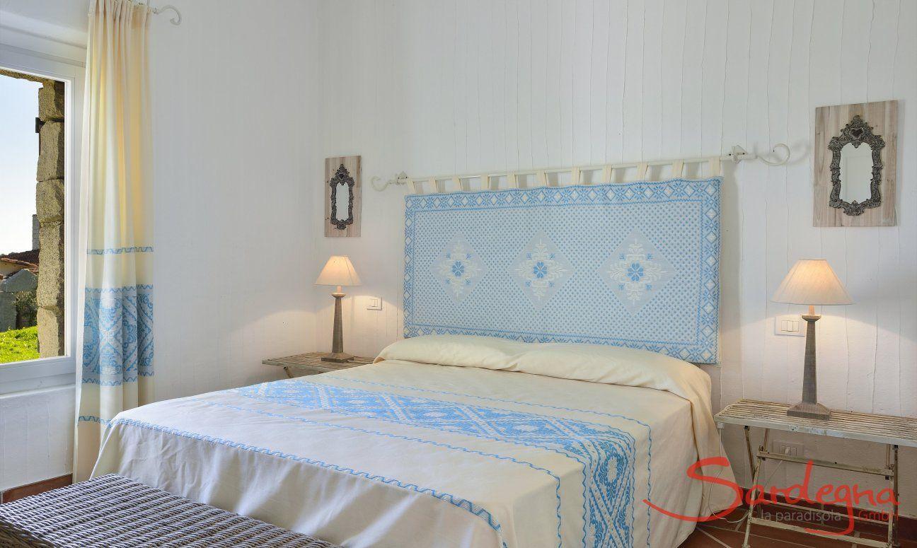 Schlafzimmer mit Doppelbett Li Conchi 10, Cala Sinzias