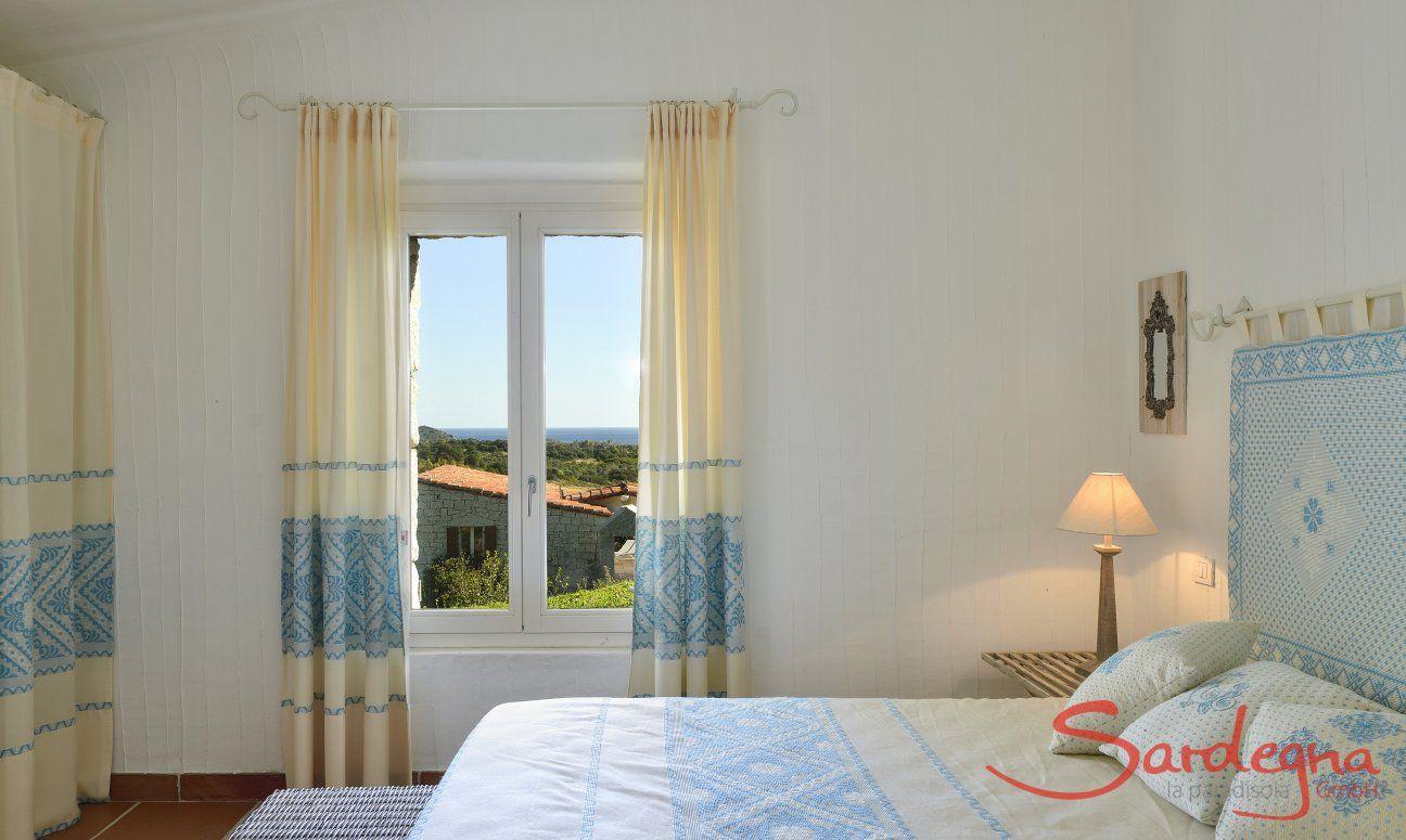 Schlafzimmer mit Gartenblick Li Conchi 10, Cala Sinzias
