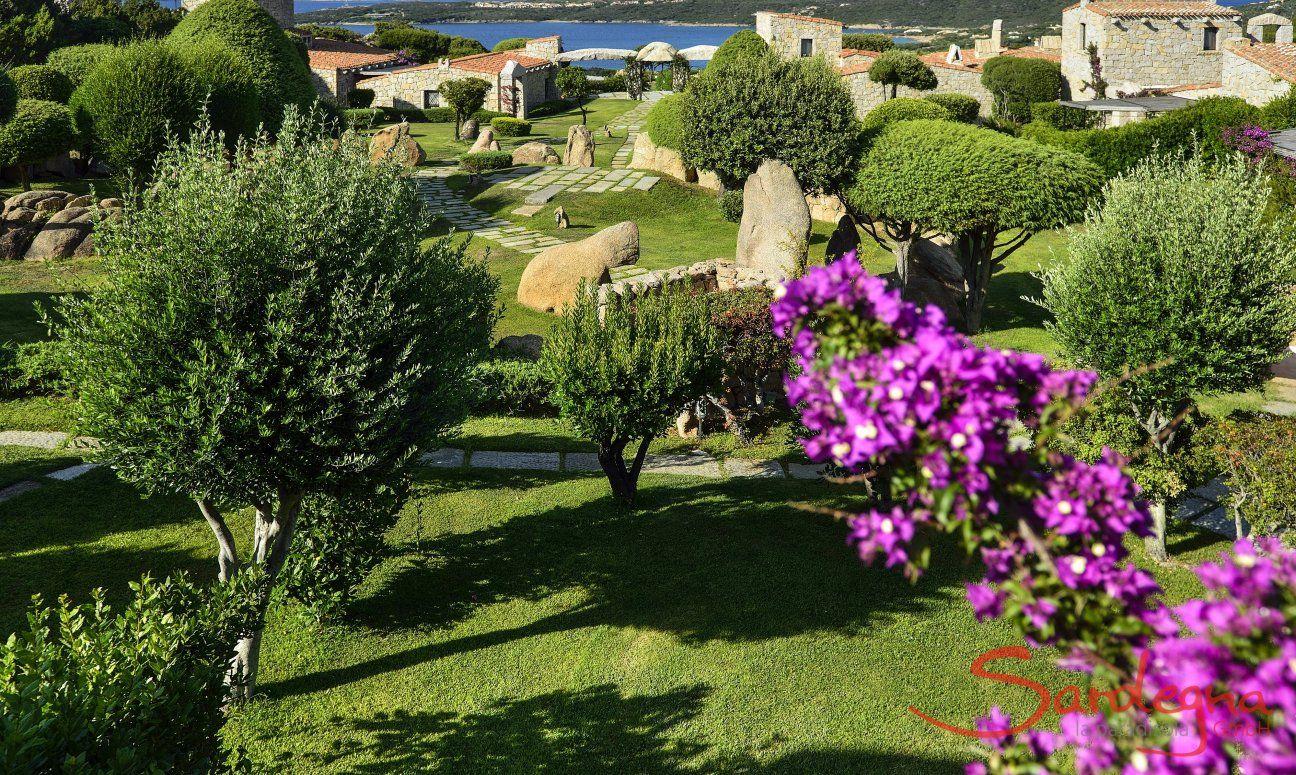 Gepflegte Gartenanlage Domus di Pitrizza