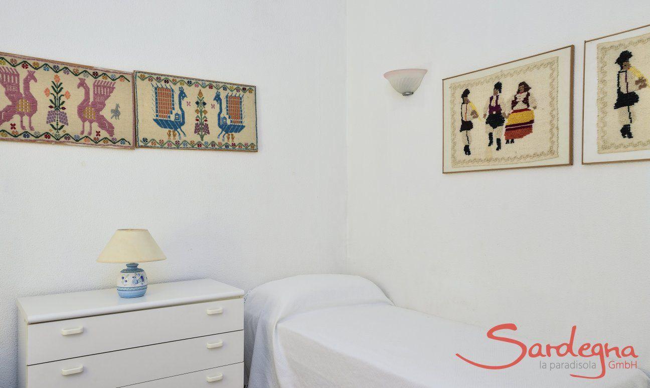 Schlafzimmer 4, Detail