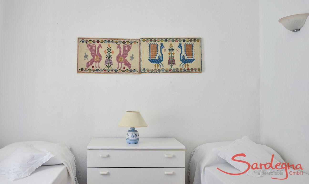 Schlafzimmer 4 mit 2 Einzelbetten
