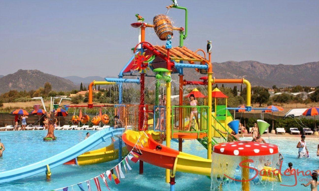 Wasserpark Blu Fan bei Pula | Kinderbecken