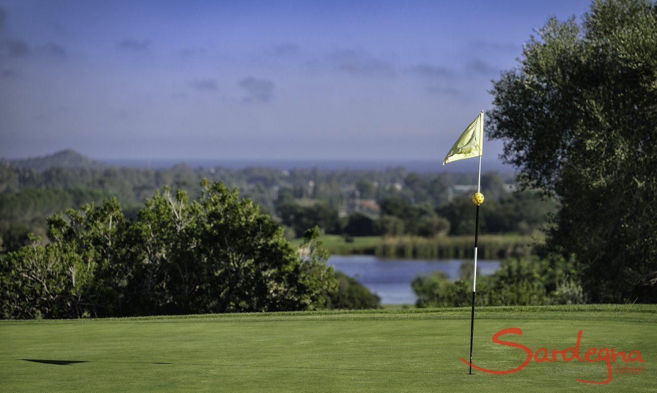Golfplatz Is Molas mit Meerblick