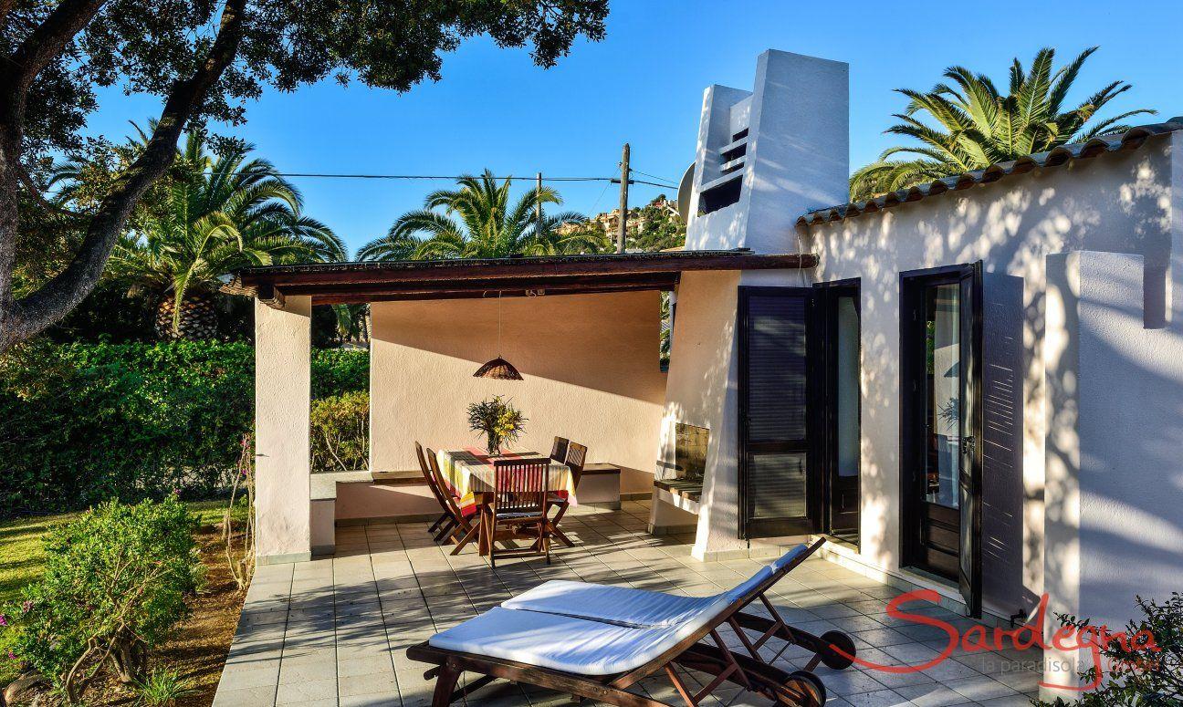 Villetta 9 Haus und Garten