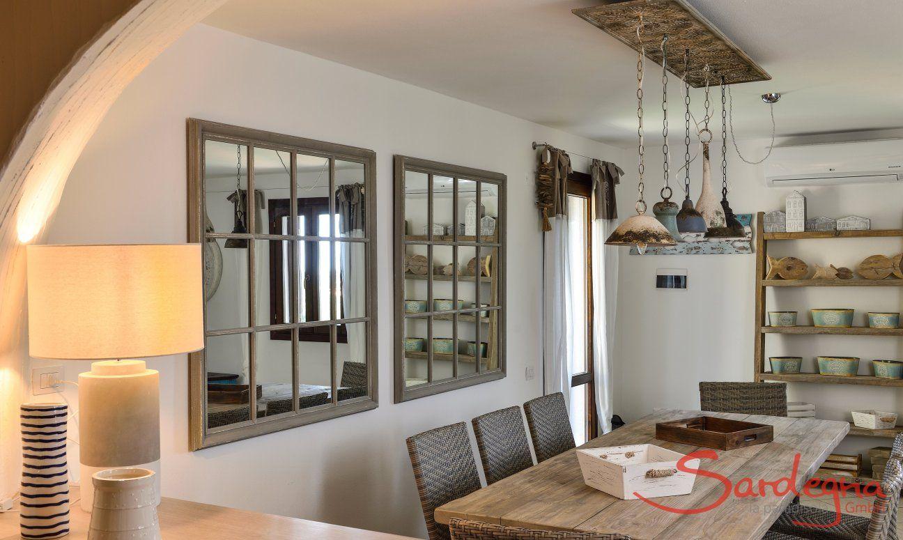 Essbereich, Ansicht von der Küche aus