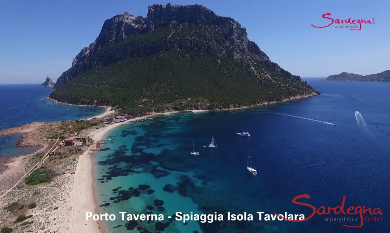 Video Strand Isola Tavolara