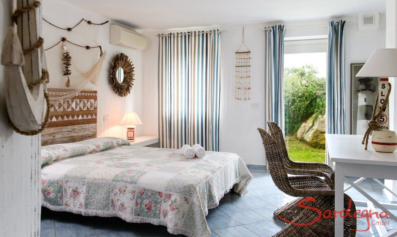 Schlafzimmer 3 im Souterrain