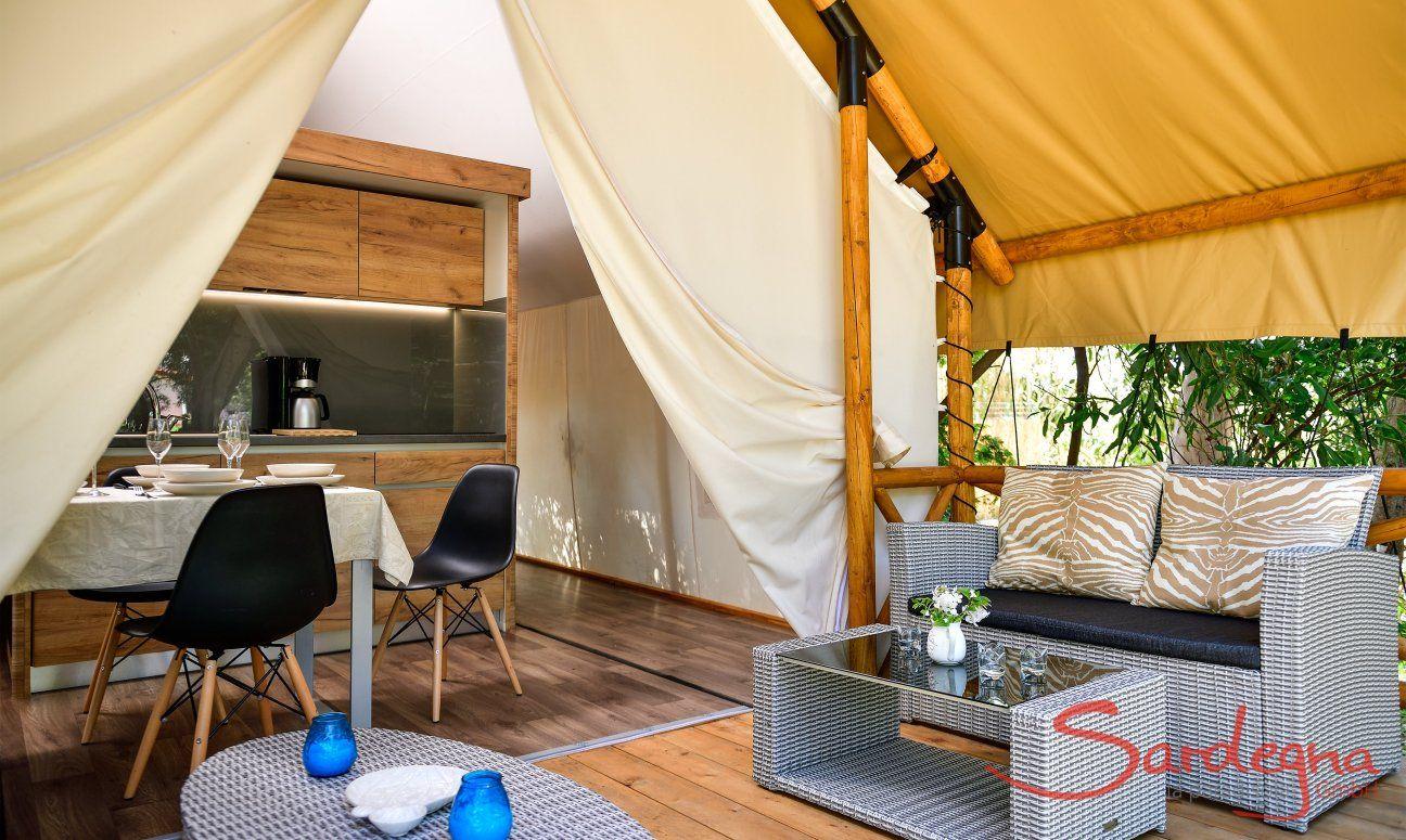 Zelt-Lodge Orri