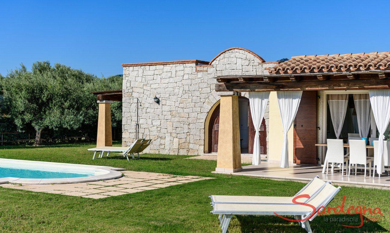 Villa Campidano 20 mit Garten mit Pool